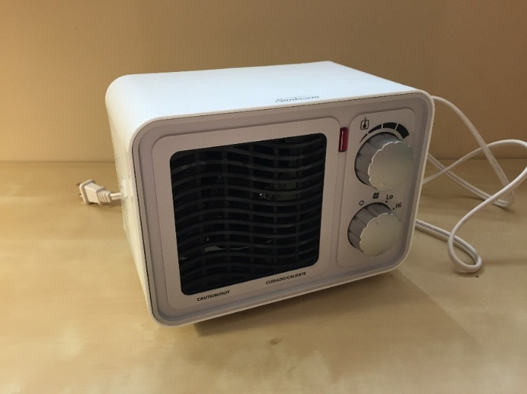 Photo of the heater.